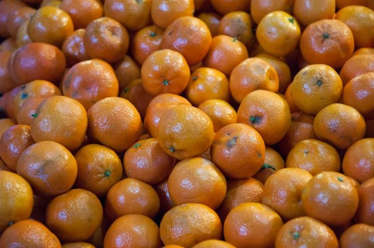 Pile of mandarin