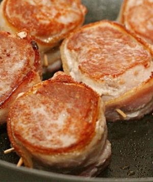 bacon wrapped pork medallions recipe key ingredient bacon wrapped pork ...