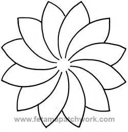 Plantilla acolchar Dresden Wheel (23 cm.)