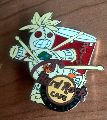 New-Orleans-2010-woodoo-Hard-Rock-Cafe-PIN-Spilla-Badge
