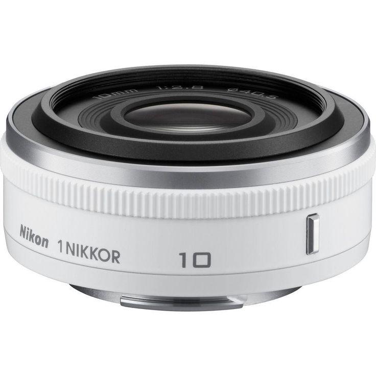 Nikon 1 Nikkor 10mm F 2 8 Cx Lens White In 2021 Nikon Nikon Camera Lenses Dslr Lenses