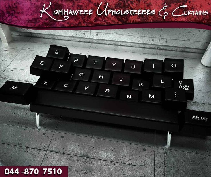 It's #WackyWednesday! Check out this wacky couch that we found online. The perfect complement to any computer gamer's room. #Kommaweer