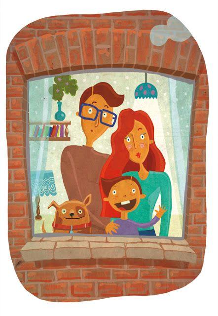 urbaniak katarzyna ilustracja dla dzieci rodzina family illustration for child