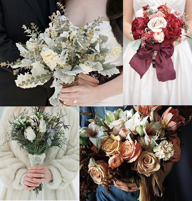 Christmas Wedding Flowers: 25+ Best Ideas About Winter Bridal Bouquets On Pinterest