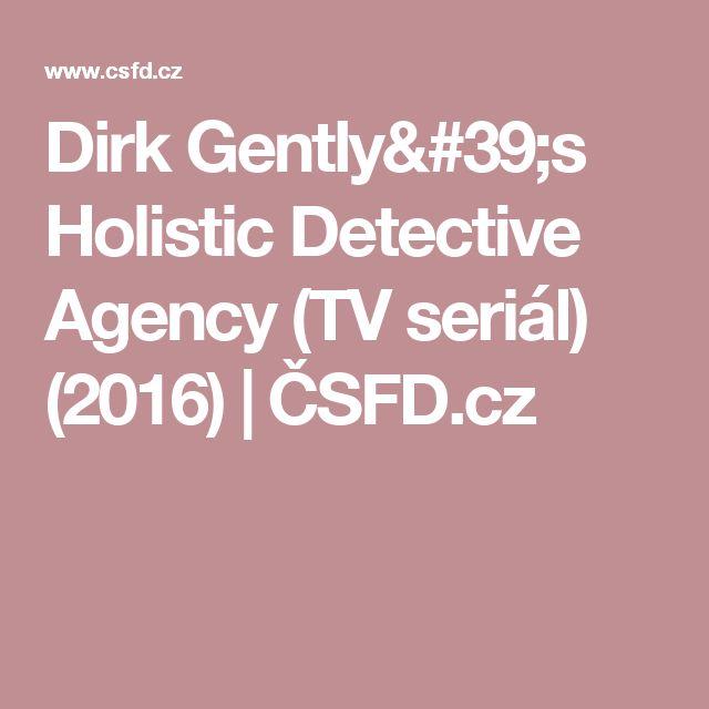 Dirk Gently's Holistic Detective Agency (TV seriál) (2016) | ČSFD.cz