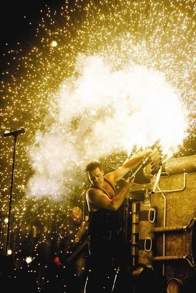 One of the best shows I've ever seen in my life!  Such awesome stage presence, can't wait to see Rammstein again in May! :D