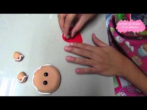 DIY Aplique Ginger Man - YouTube