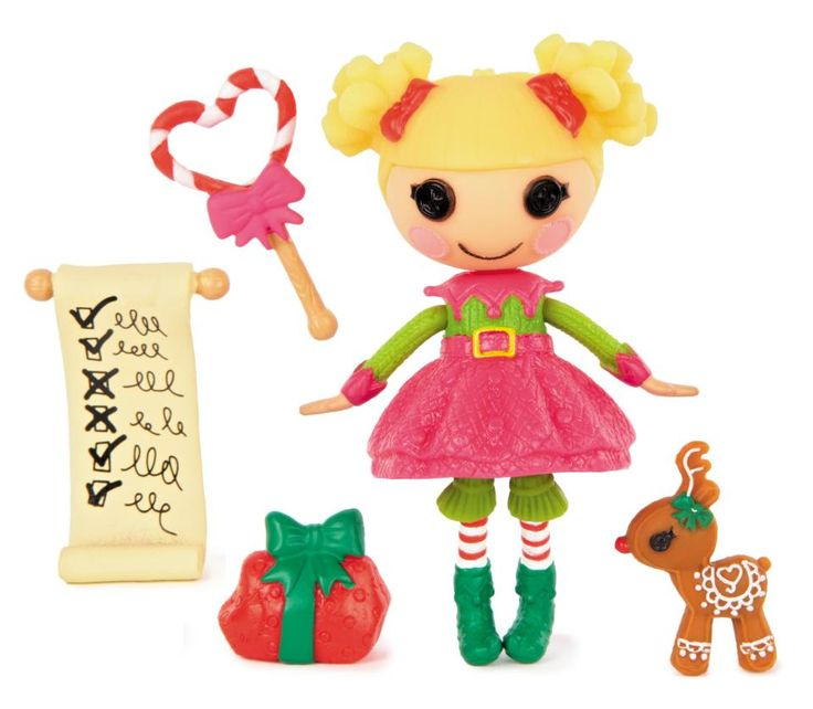 Mini Lalaloopsy - Holly Sleighbells - Christmas 2011 Special Edition