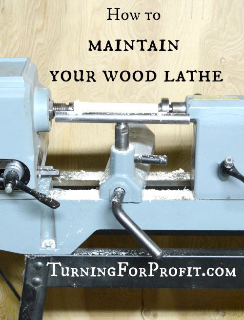 Keeping your lathe in good running order makes all your turning projects more enjoyable.  From daily to annual checks, these are the steps to take to keep your lathe running smoothly.