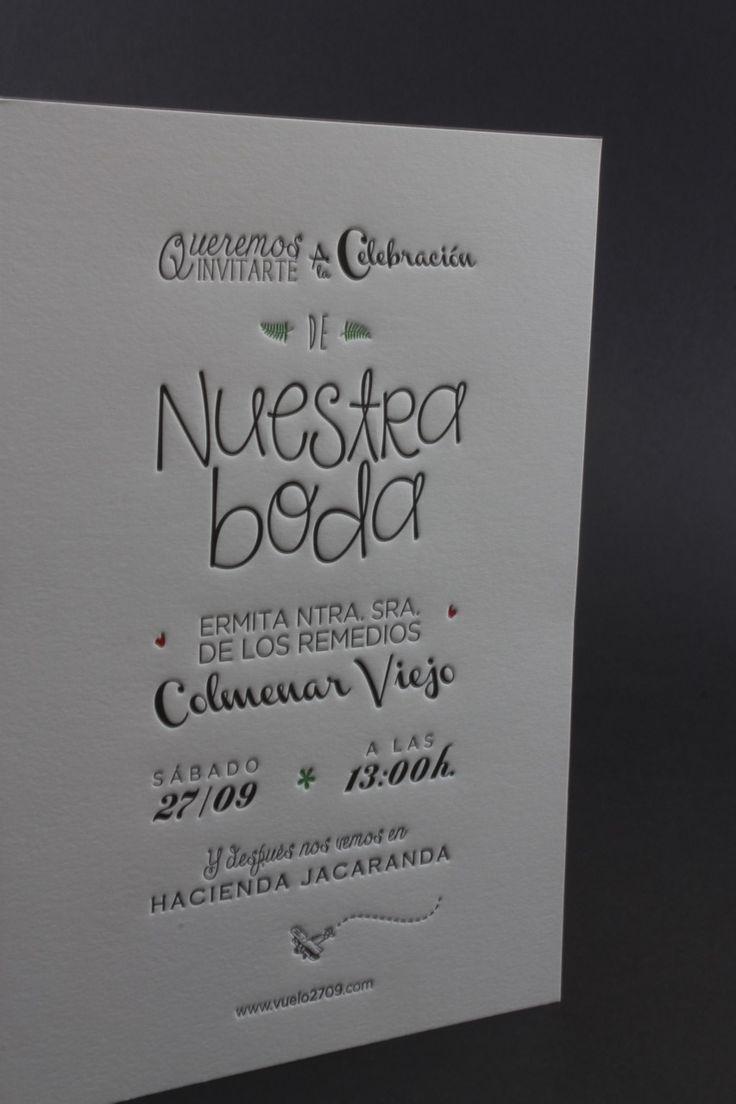 Diseños De Invitaciones De Boda Originales Elegantes Y