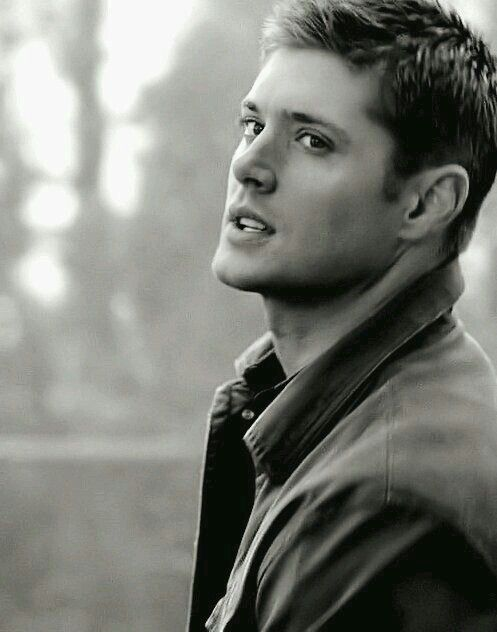Dean Winchester (Jensen Ackles)...his best years. Lost his little boy look, he hasn't reached the stage of full adulthood with it's fullness. Here he has the face of a young man at his prime.