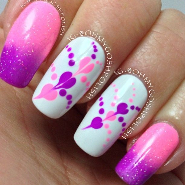 Instagram photo by ohmygoshpolish #nail #nails #nailart