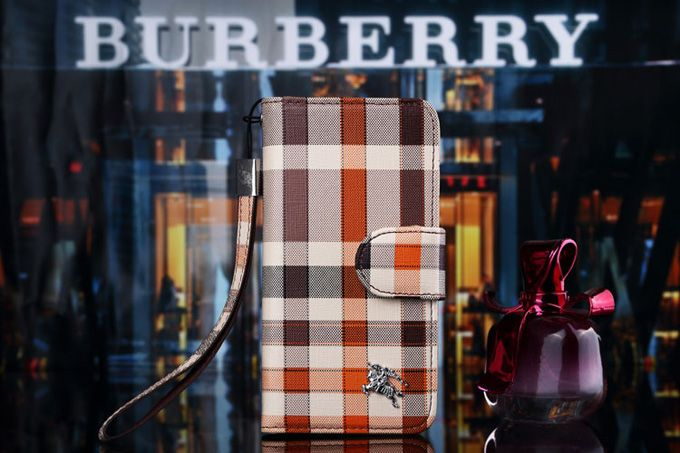 Burberry Samsung Galxy S8 Covers Wallet Brown :: Burberry Galxy S8 Cases Covers Sleeve Coque Fundas Capa Para