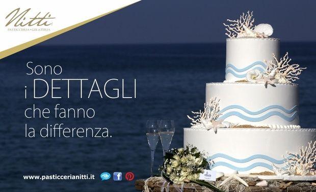 Weddign cake sea