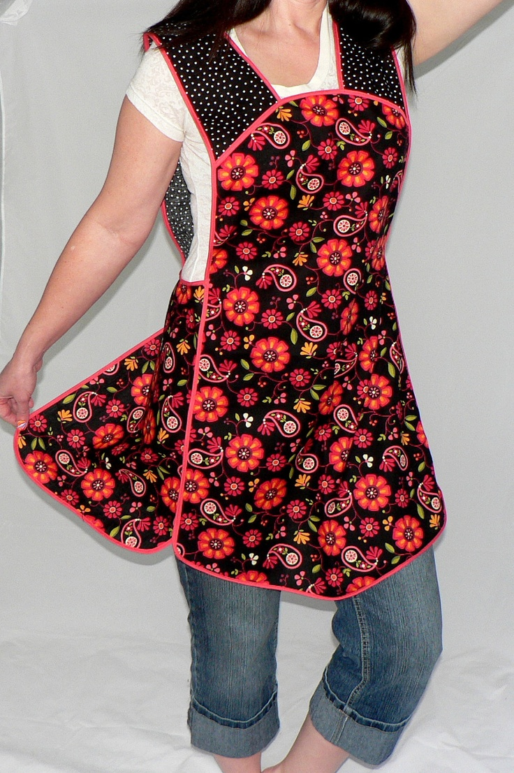 Retro Plus Size Smock Apron Arabella Last One Style Love The And Patterns
