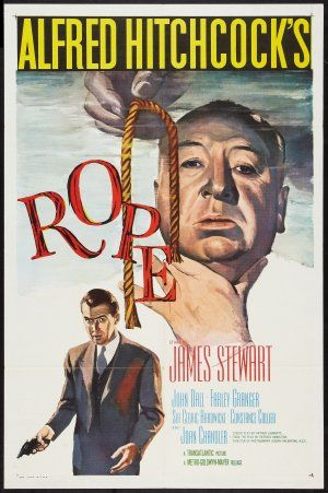 "Rope (1948) Farley Granger and John Dall are riveting as two friends who pride themselves on committing the ""perfect murder"" -- until their former teacher becomes increasingly suspicious -- in this classic Hitchcock thriller inspired by a real-life crime. Over the course of a seemingly routine cocktail party, the professor, to his horror, will discover how brutally his students have turned his academic theories into chilling reality.  James Stewart, John Dall, Farley Granger...TS bio"