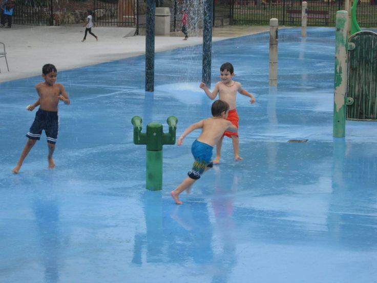 Lions Lagoon Splash Pad at Waterloo Park