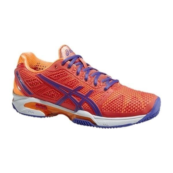 Zapatillas de padel Asics Gel Solution Speed 2 Clay Rojo Naranja zapatillas de gran calidad y un estupendo diseño, una de las mejores zapatillas para la jugadora de pádel, son zapatillas con una estetica increible !!!! y con una durabilidad buenisima http://www.newpadel.es/zapatillas-asics-padel/3313-asics-gel-solution-speed-2-clay-rojo-naranja.html
