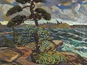 September Gale, Georgian Bay  by Arthur Lismer