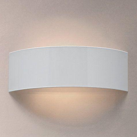 Buy John Lewis Radii Wall Light White Online At Johnlewis