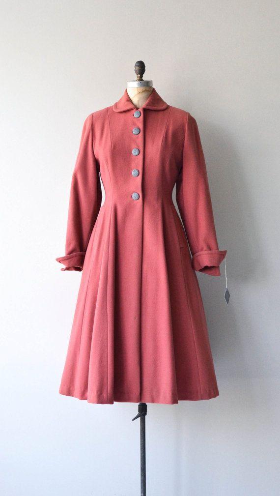New Horizon coat vintage 1940s princess coat wool by DearGolden