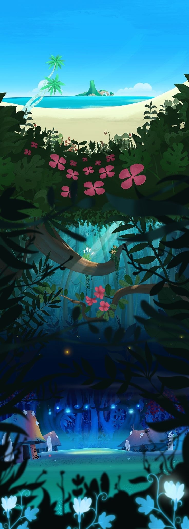 Tiki Background