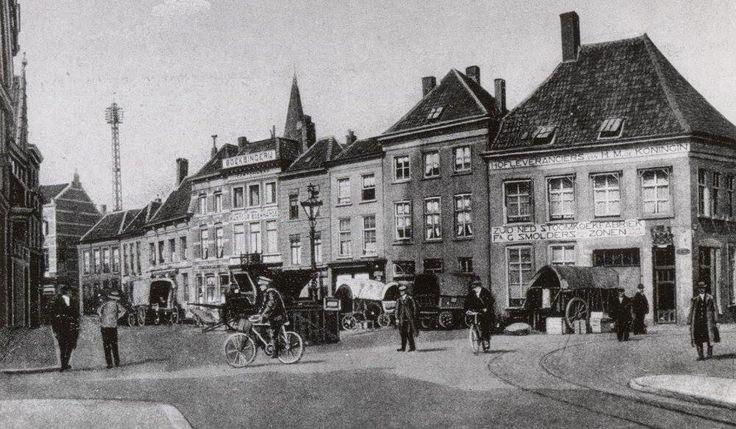 Breda. De Havermarkt omstreeks 1899