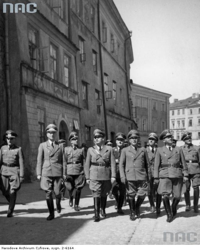 Hans Frank in Lublin !942 Poland