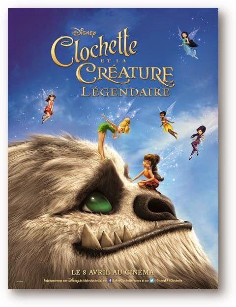 Dans la peau d'une fille: [ciné] notre avis sur Clochette et la Créature lég...
