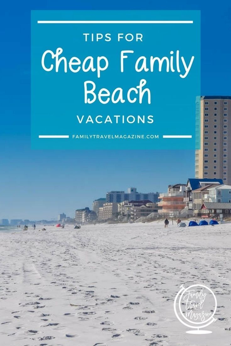 Howto Have a Beach Vacation that is Cheap