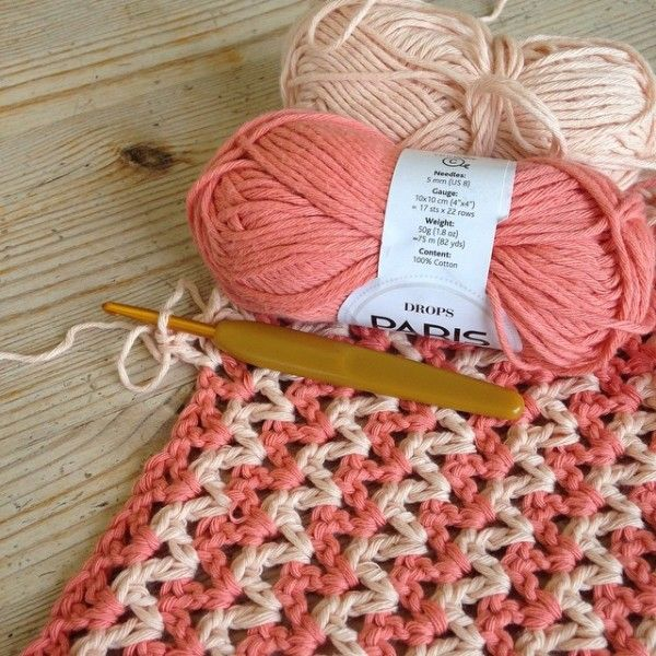 gooseberryfool crochet vstitch