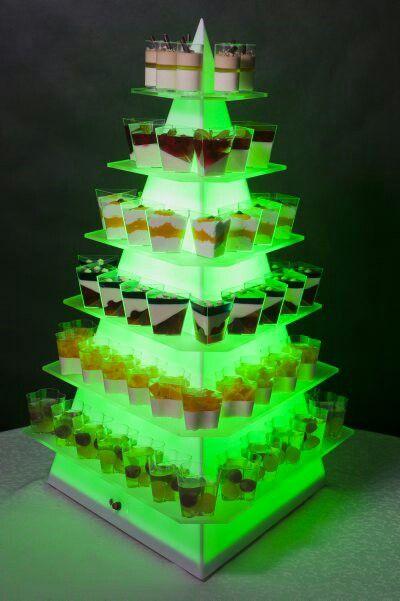 Piramida led na desery