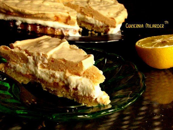 Tarta cytrynowa z bezą.