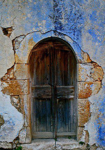 old door.. Crete Island, Greece (by Maciej landscape.lu on Flickr)   ..rh