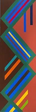 Danza Africana, 1974 Freddy Rodríguez Born: Santiago de los Caballeros, Dominican Republic 1945 acrylic on canvas 96 x 32 in. (243.8 x 81.3 cm) Smithsonian American Art Museum Museum purchase through the Luisita L. and Franz H. Denghausen Endowment © 1974, Freddy Rodríguez