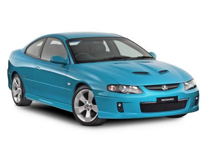 2004 Holden Monaro... an Australian car which was badged as the Pontiac GTO in the states.