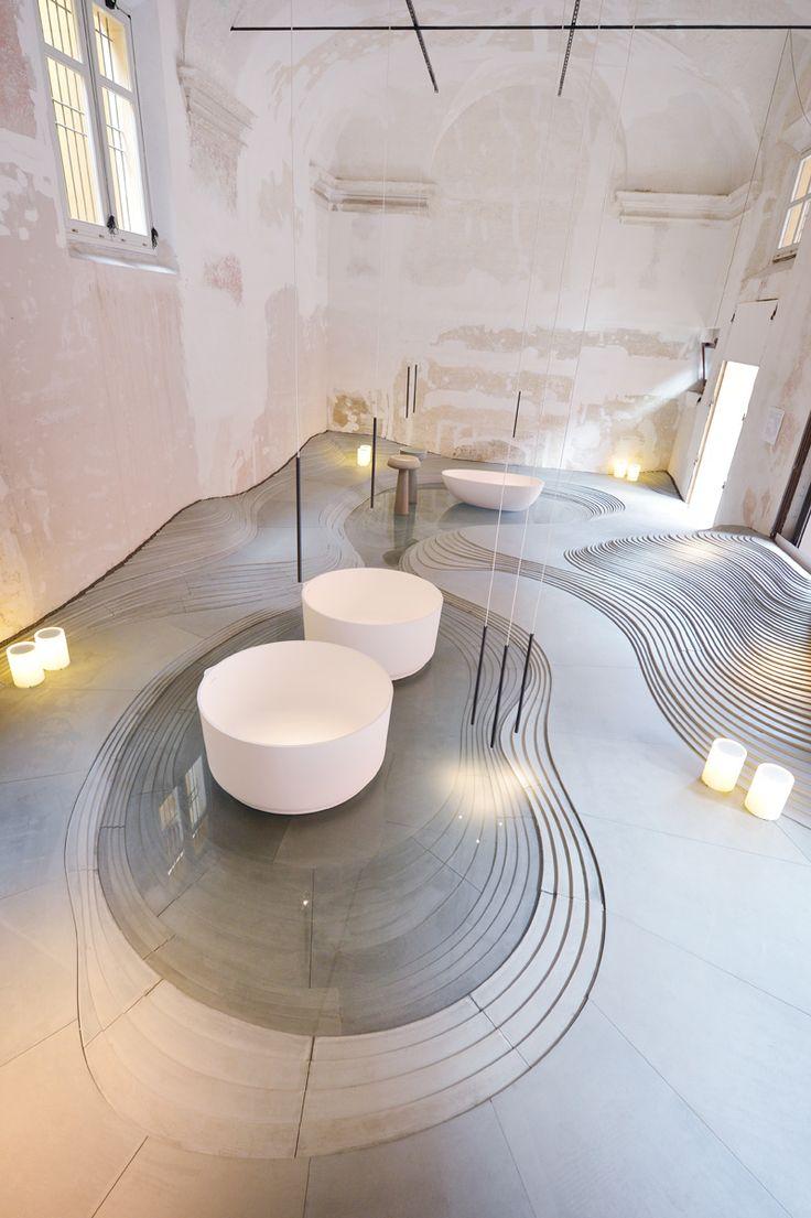 Stonescape showroom in Bologna by kengo kuma and associates