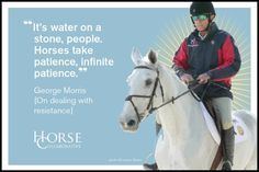 12 Enlightening George Morris Quotes to Further Your Equestrian Education ~ HorseCollaborative