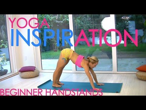 Beginner Yoga Handstands with Kino - YouTube