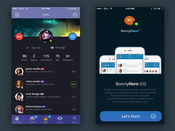 Bonny Hero - Mobille App ver 1.0 by  Yaroslav Zaytsev 🐇