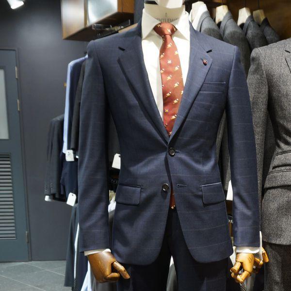 세련되어 보이는 체크 패턴 남성 기본 테일러드 자켓 @롯데백화점 customellow