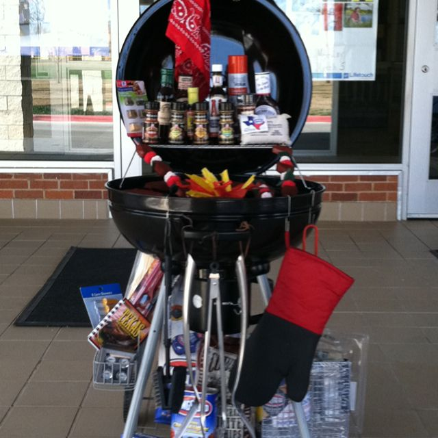 Fundraiser Gift Ideas: Freaking Awesome. BBQ With Sauces And Accessories