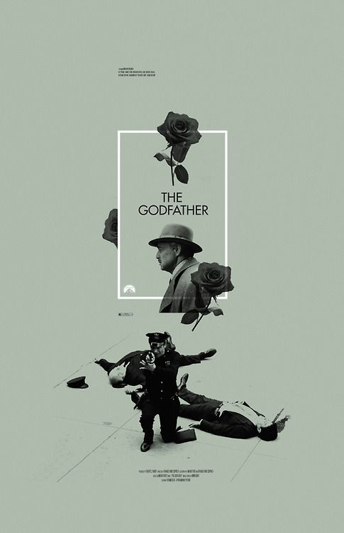 The Godfather - movie poster - Adam Juresko