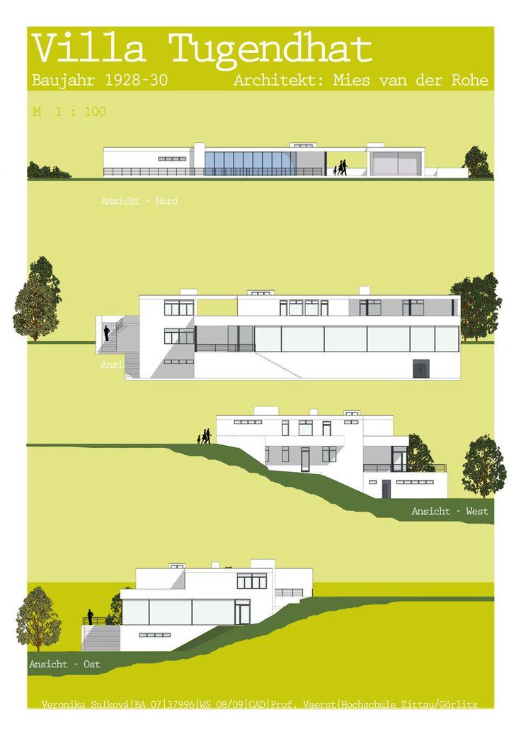 VILLA TUGENDHAT – BRNO (BRÜNN) Eine Ikone moderner #Architektur. Die Villa der…