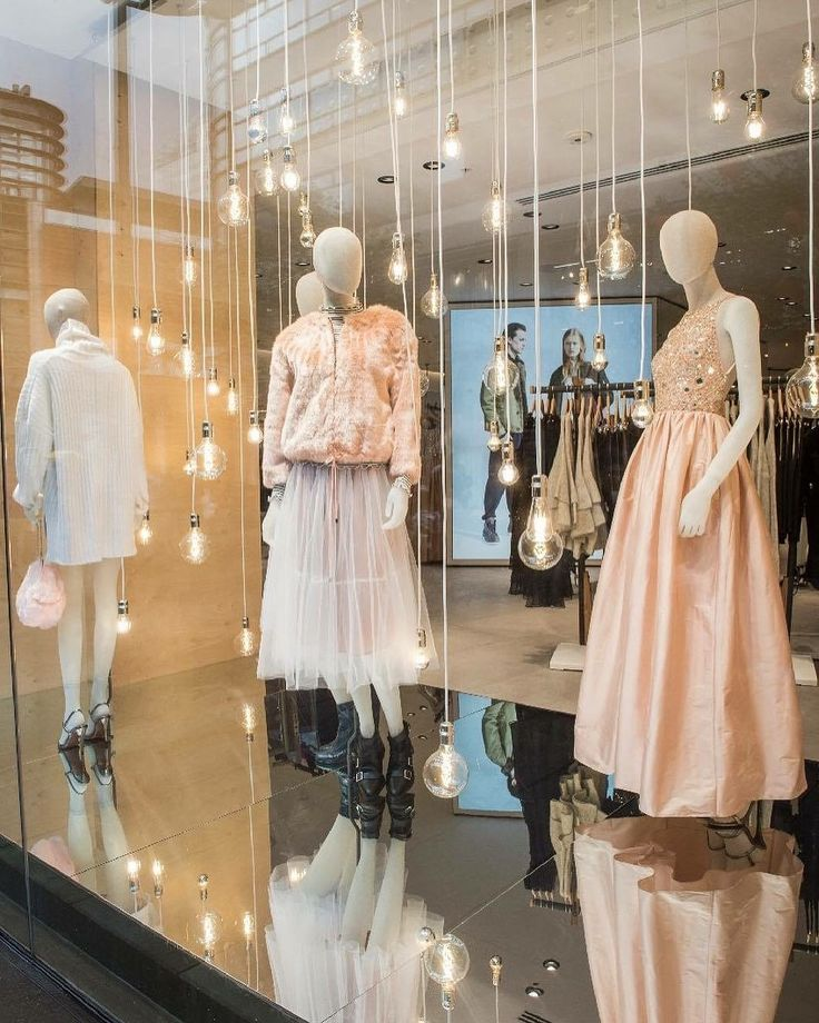 """FRENCH CONNECTION, London, UK, """"Shine and Glitter"""", Vogue Mannequin  Collection by Window France, pinned by Ton van der Veer"""
