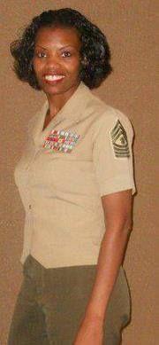 Master Gunnery Sergeant Jane Spencer