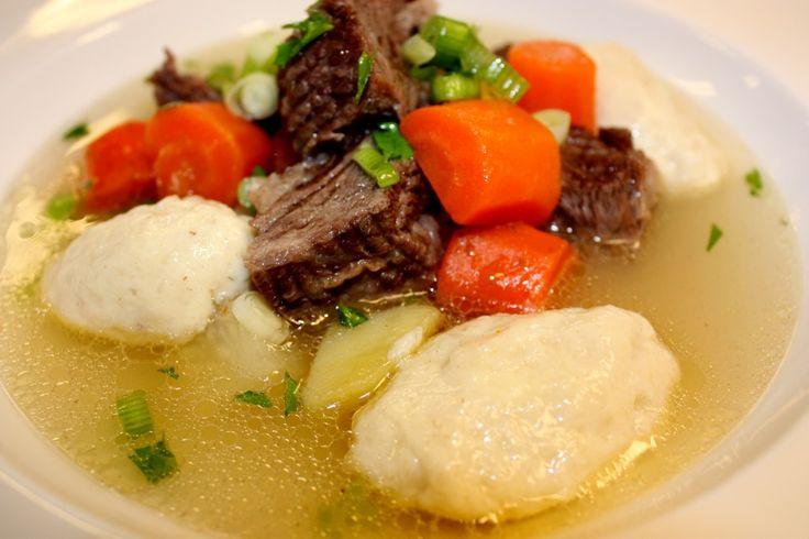Köttsoppa med klimp