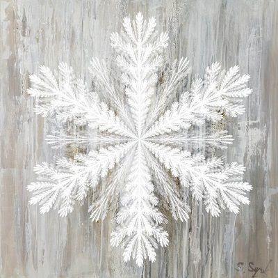 """Obraz na płótnie """"Ice Crystal"""""""