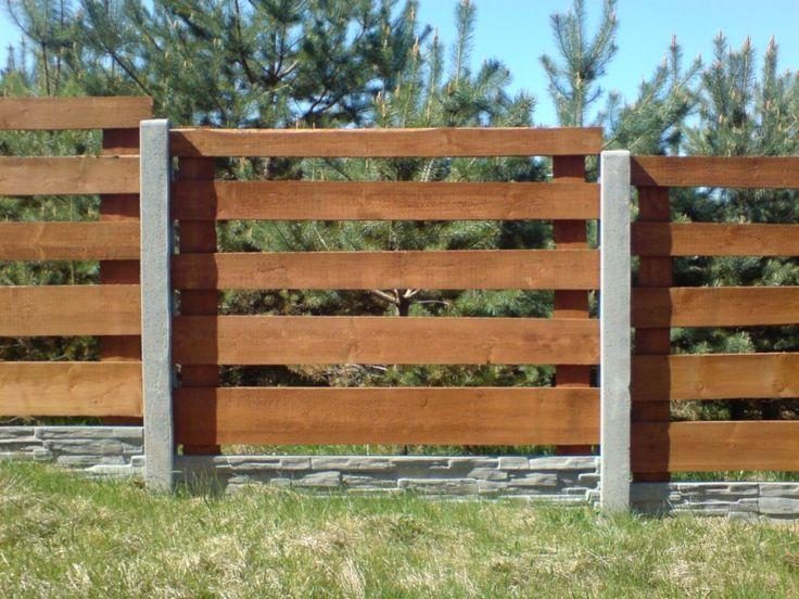 Ogrodzenia drewniane - Produkcja Kostki Brukowej i Ogrodzeń Betonowych