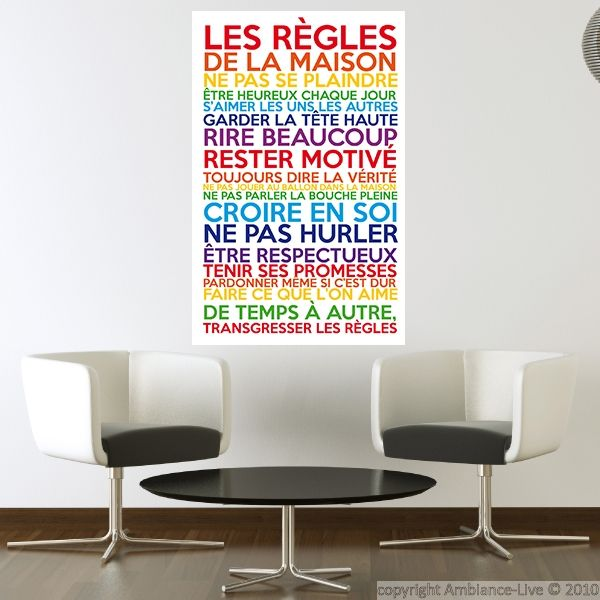 17 meilleures citations italiennes sur pinterest citations latines dictons italiens et - Poster les regles de la maison ...